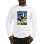 Saguaro Zombies: The Green Zombie Long Sleeve T-Sh