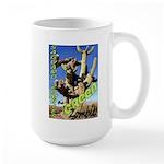 Saguaro Zombies: The Green Zombie Large Mug