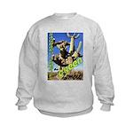 Saguaro Zombies: The Green Zombie Kids Sweatshirt
