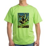 Saguaro Zombies: The Green Zombie Green T-Shirt