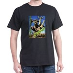 Saguaro Zombies: The Green Zombie Dark T-Shirt