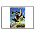 Saguaro Zombies: The Green Zombie Banner