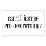Can't I Just Sticker (Rectangle 50 pk)