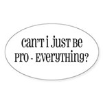 Can't I Just Sticker (Oval 10 pk)