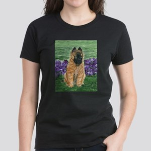 Belgian Tervuren Puppy Women's Dark T-Shirt