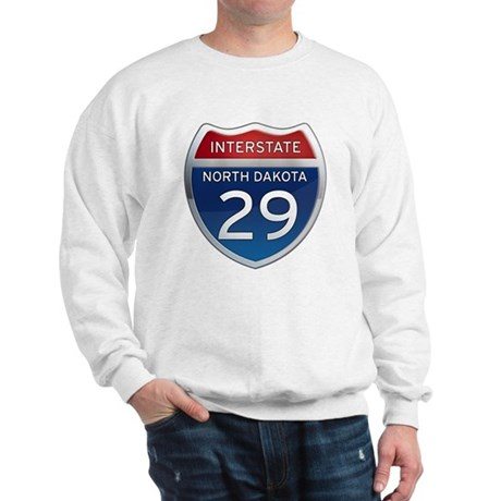 Interstate 29 - North Dakota Sweatshirt