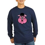 Charlie Choplin Long Sleeve Dark T-Shirt