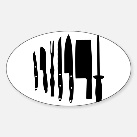 Knives Decal