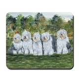 Old english sheepdog Classic Mousepad