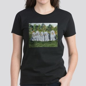 Old English Sheepdog Women's Dark T-Shirt