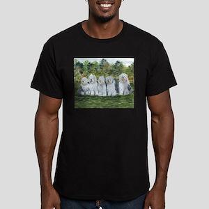 Old English Sheepdog Men's Fitted T-Shirt (dark)