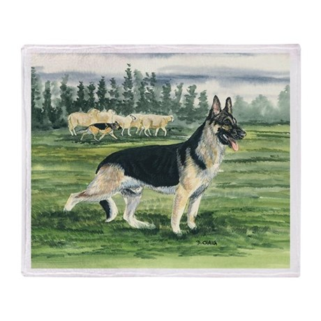 german shepherd blanket german shepherd throw blanket by deecraig 3700
