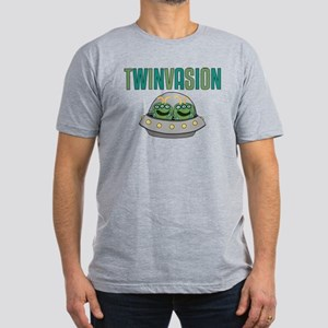 TWINVASION Men's Fitted T-Shirt (dark)