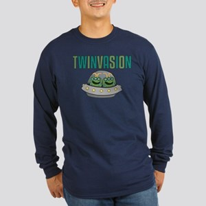 TWINVASION Long Sleeve Dark T-Shirt