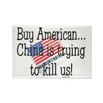 Buy American Rectangle Magnet (100 pack)