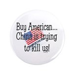 """Buy American 3.5"""" Button (100 pack)"""