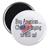 """Buy American 2.25"""" Magnet (10 pack)"""
