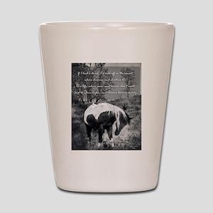 If I Had a Horse Shot Glass