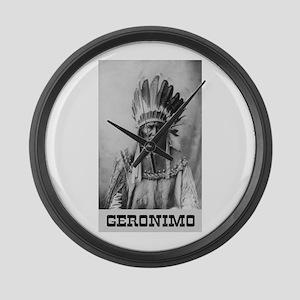 Geronimo Large Wall Clock
