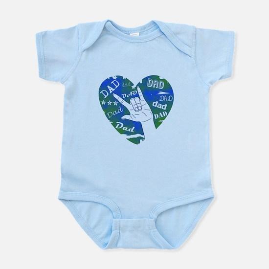 LOVE YOU DAD Infant Bodysuit