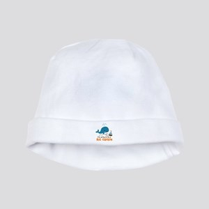 Big Cousin to be - Mod Whale baby hat