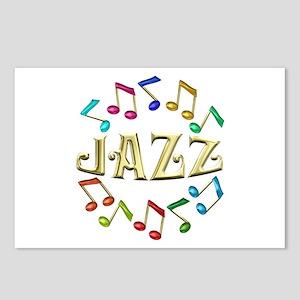 Golden Jazz Postcards (Package of 8)