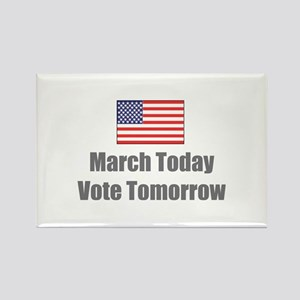 March Today Rectangle Magnet