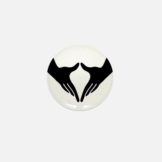 Yoni Mudra Mini Button
