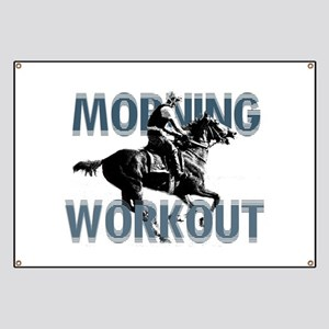 The Morning Workout Banner