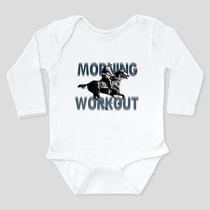 The Morning Workout Long Sleeve Infant Bodysuit