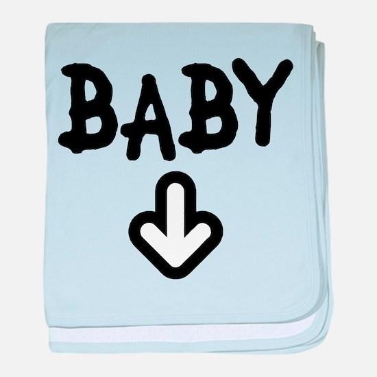 Baby Arrow baby blanket
