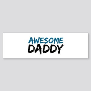 Awesome Daddy Sticker (Bumper)