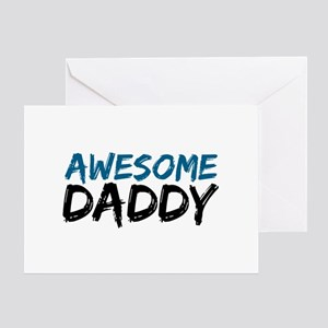 Awesome Daddy Greeting Card