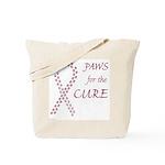 Burgundy Cure Tote Bag
