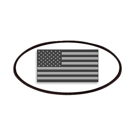 USA American Flag Gray Camo Patches