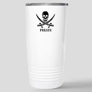 Pirate Stainless Steel Travel Mug