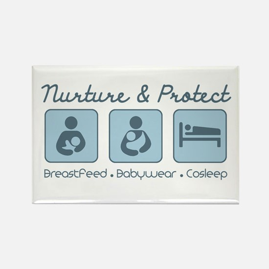 Funny Babywearing Rectangle Magnet (10 pack)