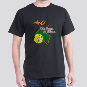 Billiard Black Pool Player Black T-Shirt