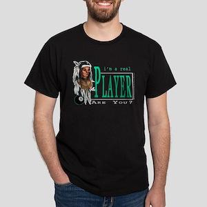 Billiard Black Pool Player Black T-Shirt