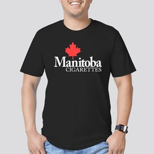 Manitoba Cigarettes Men's Fitted T-Shirt (dark)