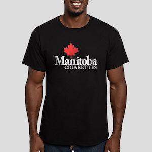 Manitoba cigarettes gifts cafepress manitoba cigarettes mens fitted t shirt dark negle Choice Image
