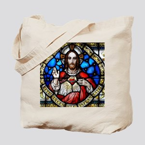 Sacred Heart and Arrupe Quotation Tote Bag