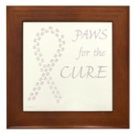Orchid Paws Cure Framed Tile
