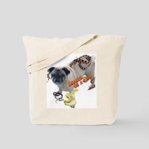 Snakes on a Pug Tote Bag