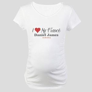 I Heart My Fiancé Maternity T-Shirt