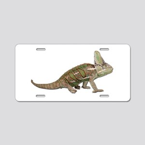Chameleon Photo Aluminum License Plate