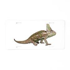 Chameleon Photo Aluminum License Plate