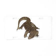 Komodo Dragon Photo Aluminum License Plate
