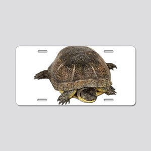 Blandings Turtle Aluminum License Plate