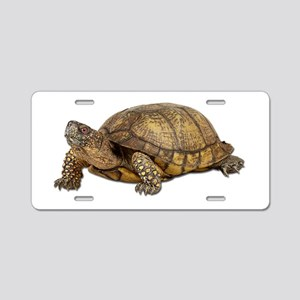 Box Turtle Aluminum License Plate